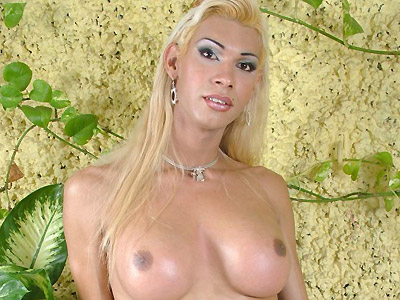 Transsexual Cock Play